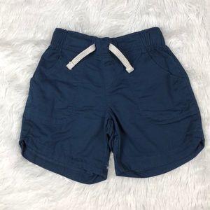 Like New Navy Blue Elastic Waist Shorts XS 4/5